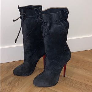 Authentic Christian Louboutin Boots